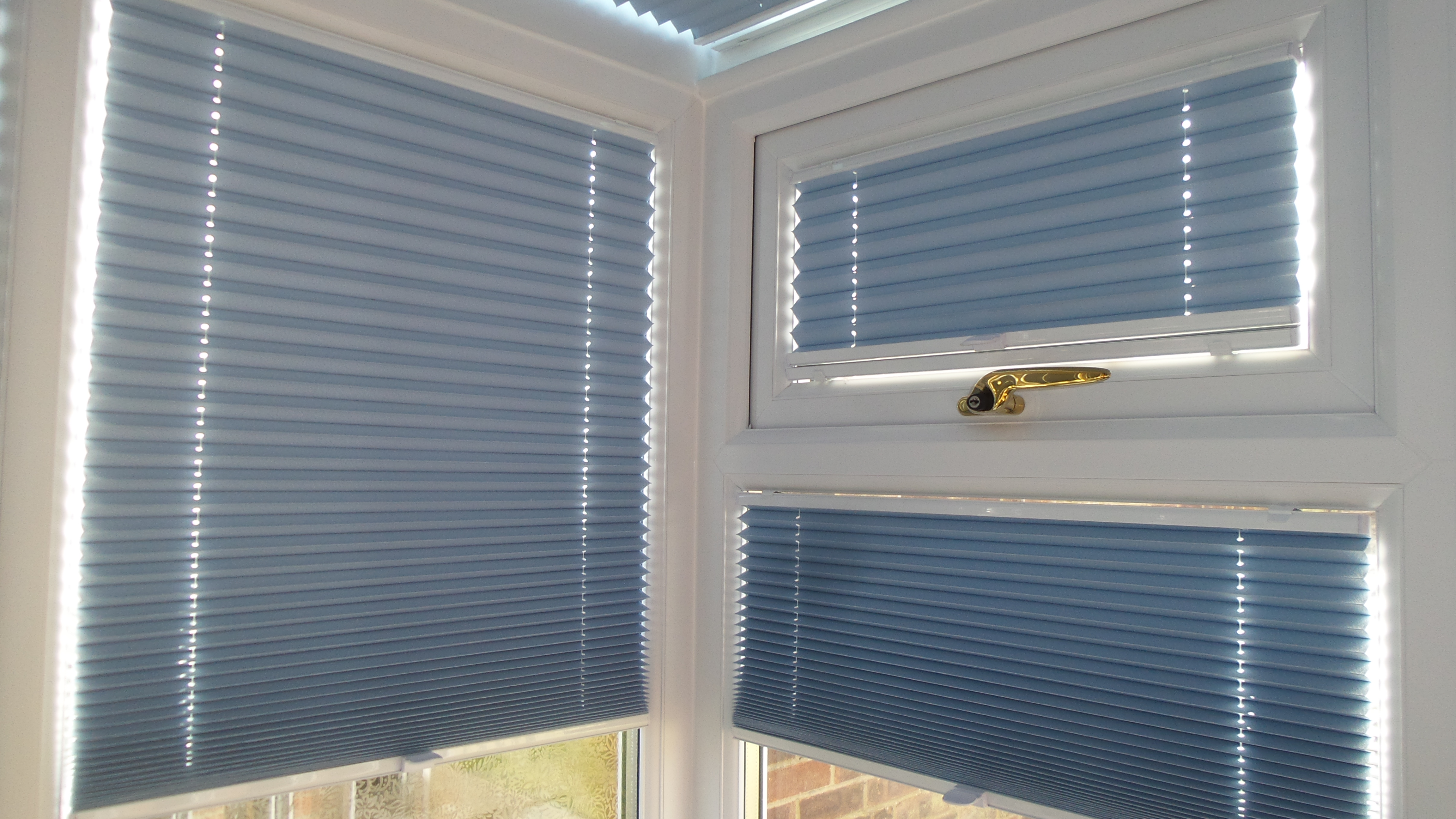 Sb3 Pleated Blinds Tensioned With No Frame Highline Blinds